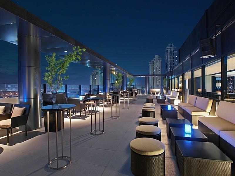 The Seda rooftop bar