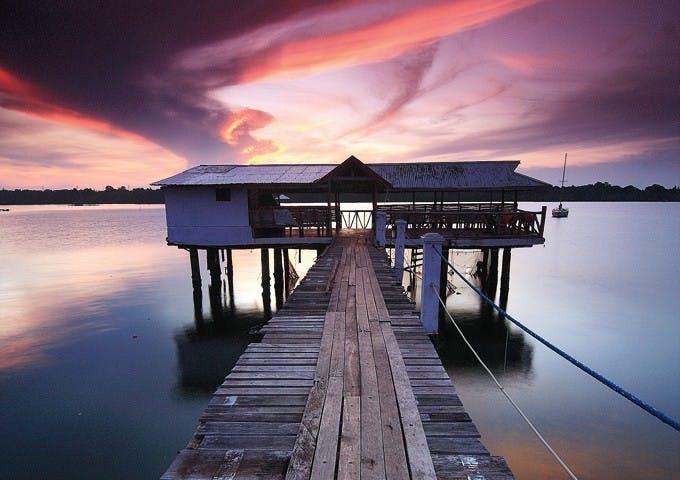 Marina de Bay's T-house. Photo by Jocas A. See