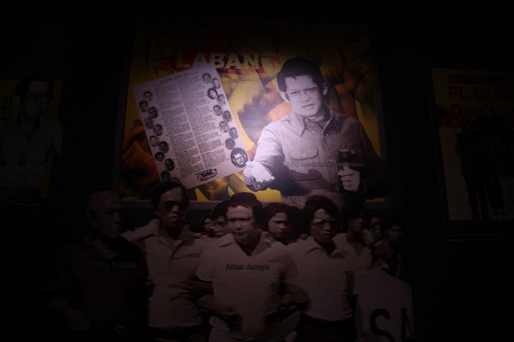 Ninoy Aquino as part of the Diorama Experience of Philippine History, Second Floor, Ayala Museum. Photo courtesy of the Ayala Museum.