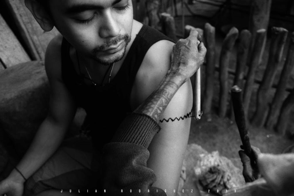 Bear the scars: Juls gets tattooed by the legendary Apo Fang-od in Buscalan