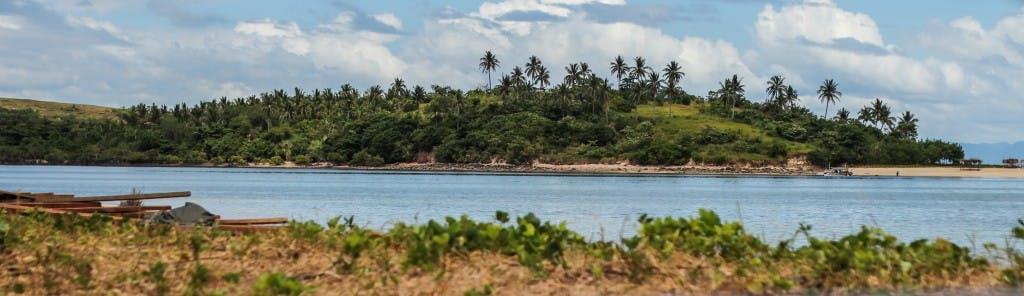 The Caramoan coastline, site of the US reality show Survivor