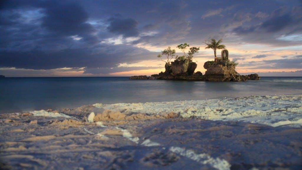 Boracay's famous Willy's Rock, through Juls' lens