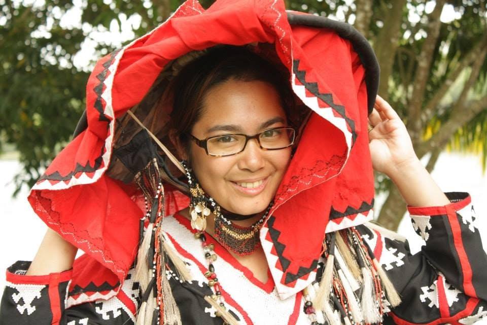 Ida in traditional T'boli garb