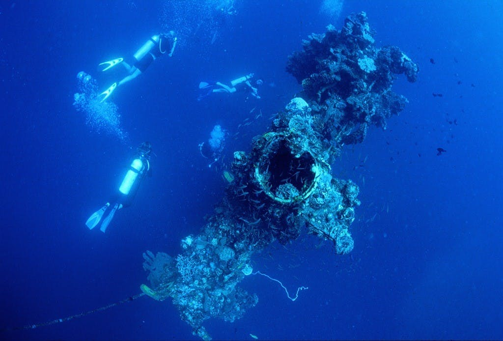 Wreck diving in Busuanga. By Gutsy Tuason