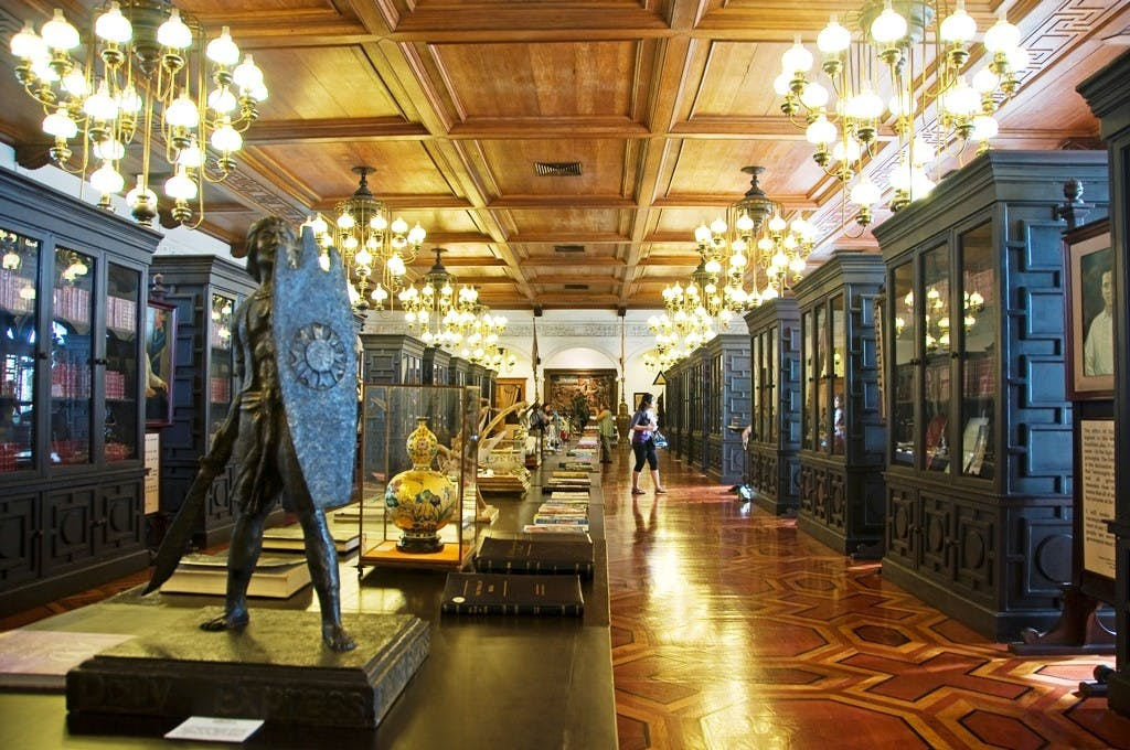 The museum at Malacanang. Photo by Oggie Ramos