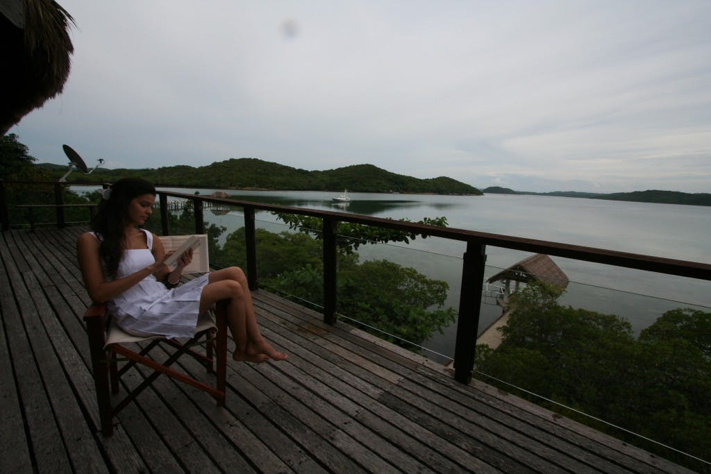 Kalipayan Resort opened on Popototan island a few years ago and is one of the more upmarket resorts in the area. Photo by Parc Cruz