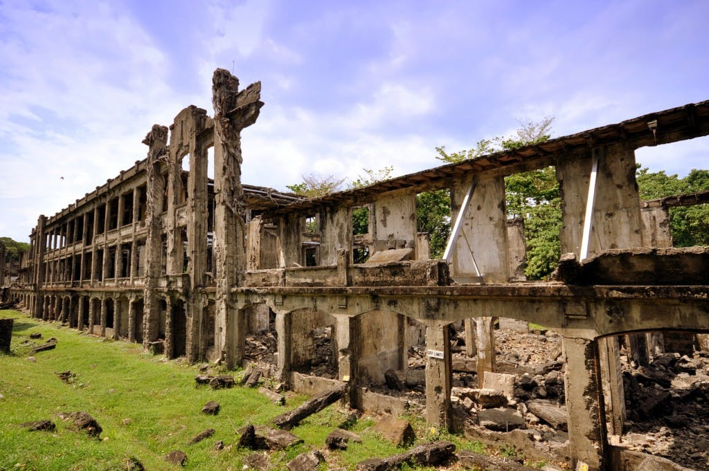 The Corregidor ruins. Photo by Marianne Chua