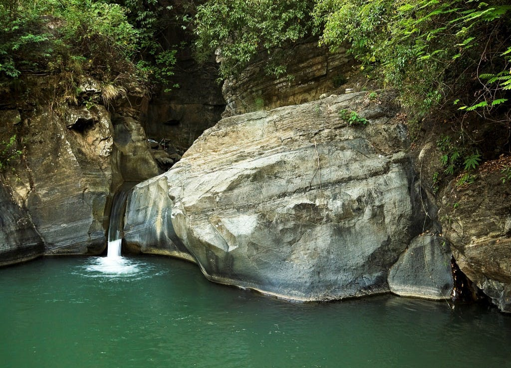 Bugsukan Falls in Iloilo. Photo by Oggie Ramos
