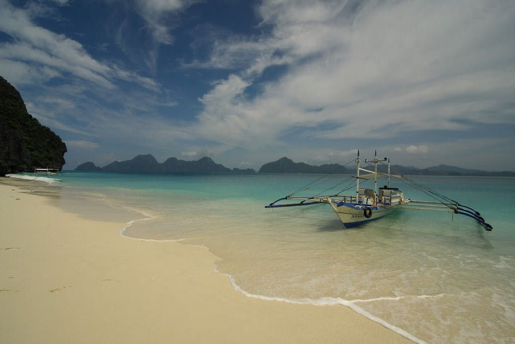 Paradise found: El Nido's Entalula Beach. Photo by Jocas See