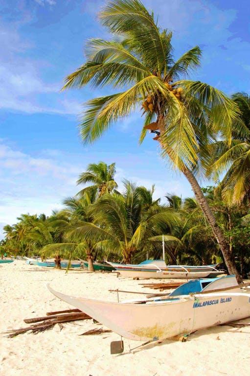 Bounty Beach in Malapascua
