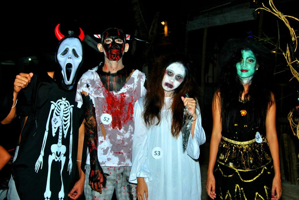 Halloween 2014 at Exit Bar. Photo by Jack Jarilla