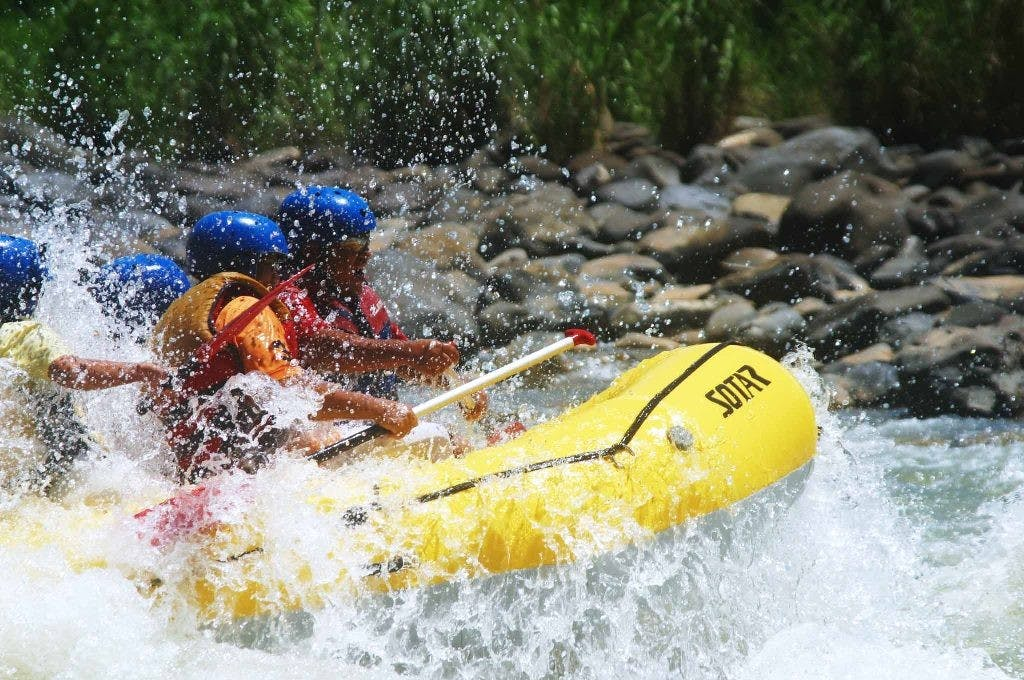 River rafting in Cagayan. Photo by Kim Domingo