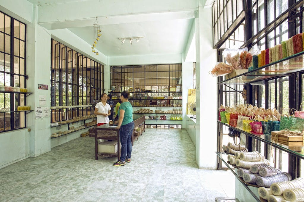 The shop at Ilog Maria Honeybee Farm. By Daniel Soriano