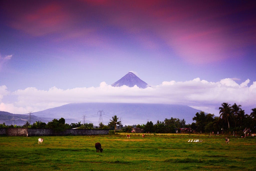 Beautiful Mt. Mayon