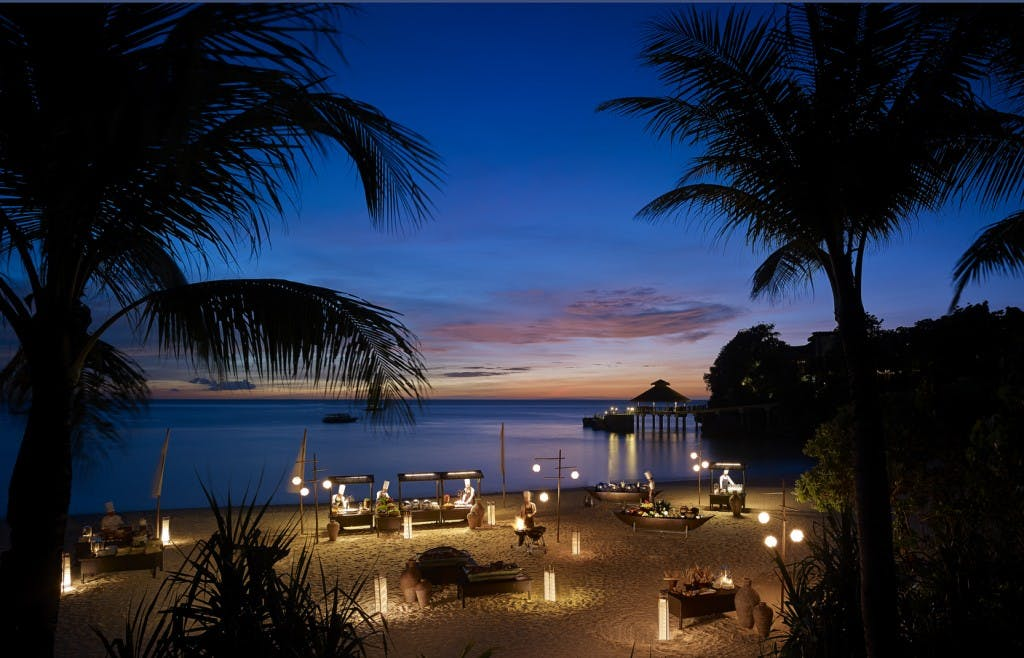 Shangri-la's private Punta Bunga beach. Photo courtesy of Shangri-la Boracay
