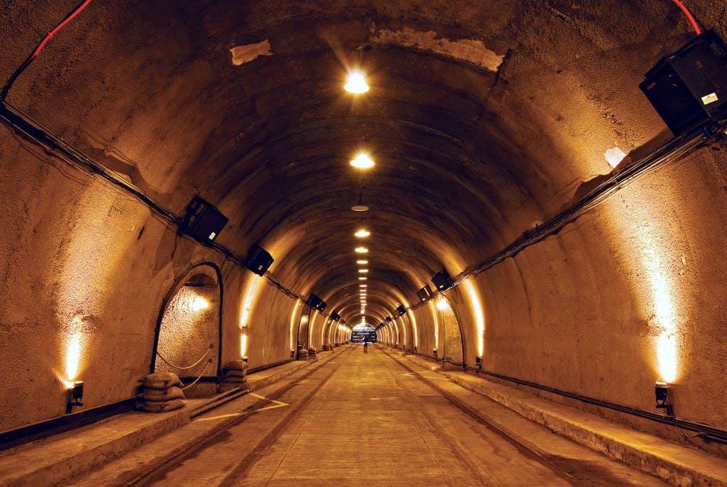 Malinta Tunnel in Corregidor Island, Bataan. By Christian Sangoyo