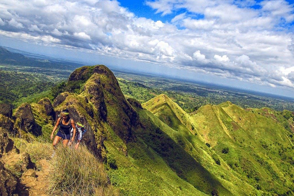 Climbing Mt. Batulao in Batangas. By Julian Rodriguez
