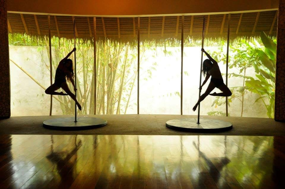 Mandala's The Vessel has an airy dance studio overlooking clusters of bamboo trees