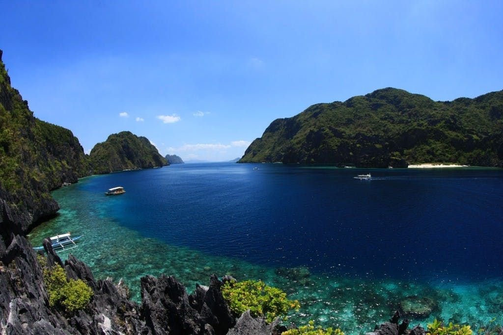 Matinloc Island, part of El Nido Boutique and Art Cafe's Tour C Snorkel Tour