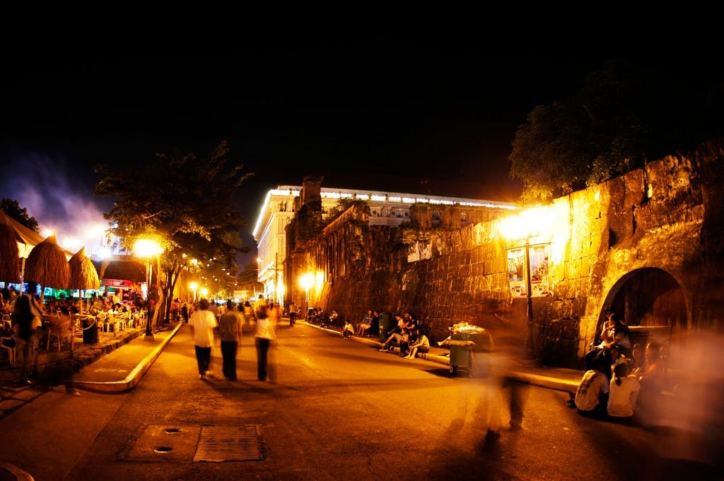 Intramuros at night By Erik Liongoren