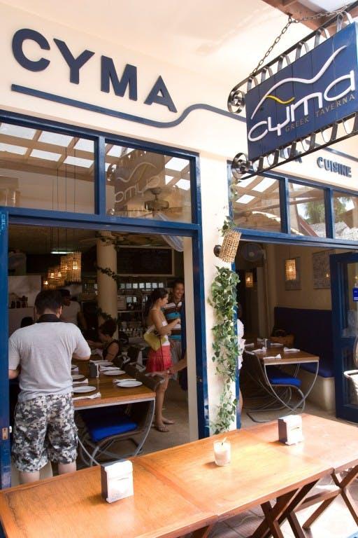 Cyma, Boracay branch. By Mike Alcid