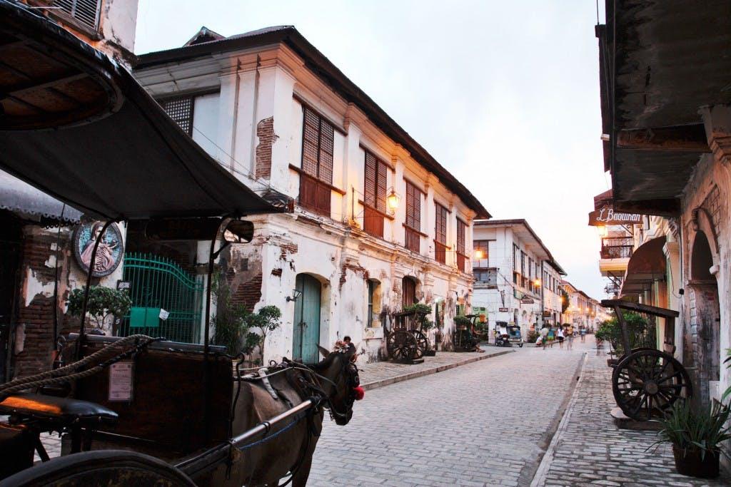 Walk along Calle Crisologo in Vigan, Ilocos Sur. By Daniel Soriano