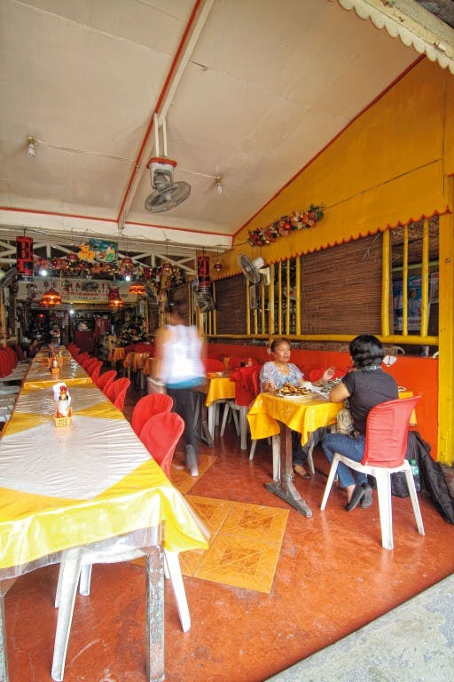 Dine in Bernadette's Chicken Inasal by Mark Antang
