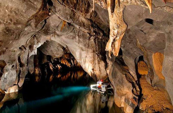Puerto Princesa Underground River pinched from undergroundriver-palawan.com