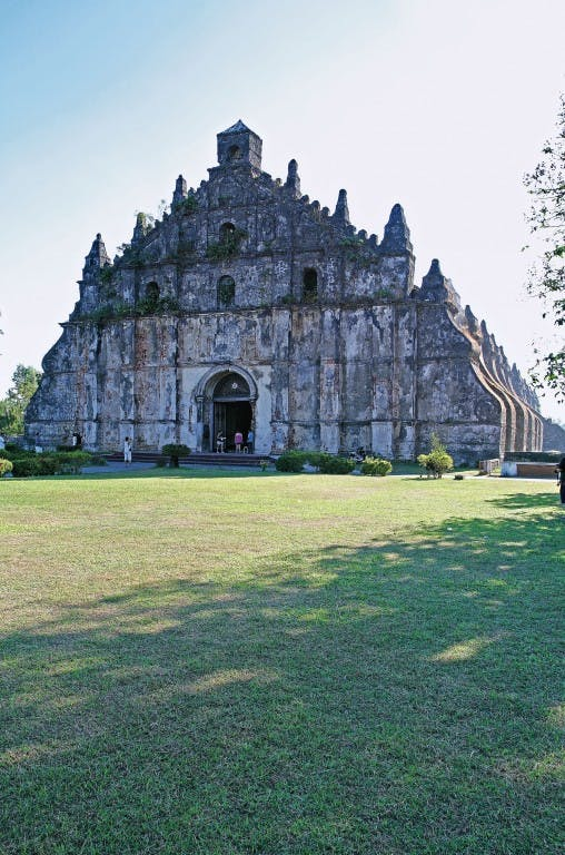 Paoay Church By Bong Bajo