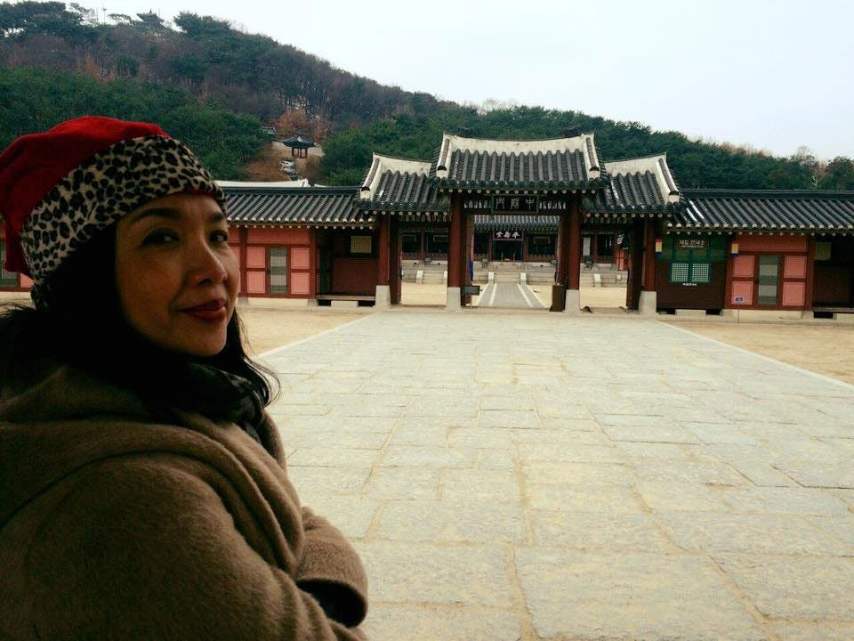 Isay in Suwon, South Korea pinched from Isay Alvarez Sena's Facebook page
