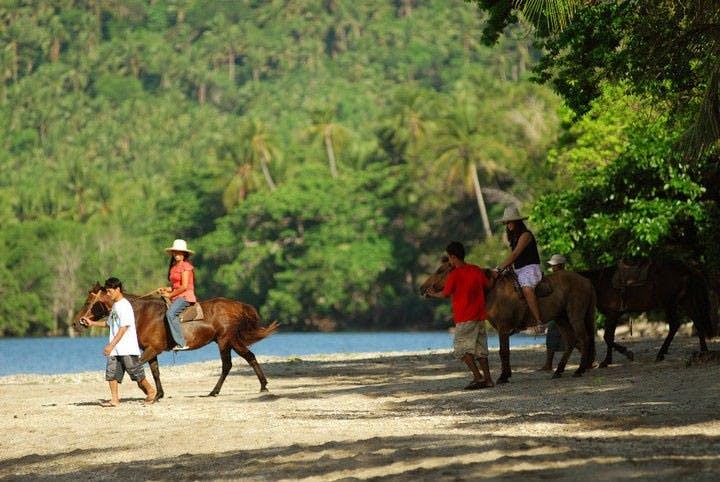 Horse riding in Costa Aguada Island Resort pinched from Costa Aguada Island Resort's Facebook page