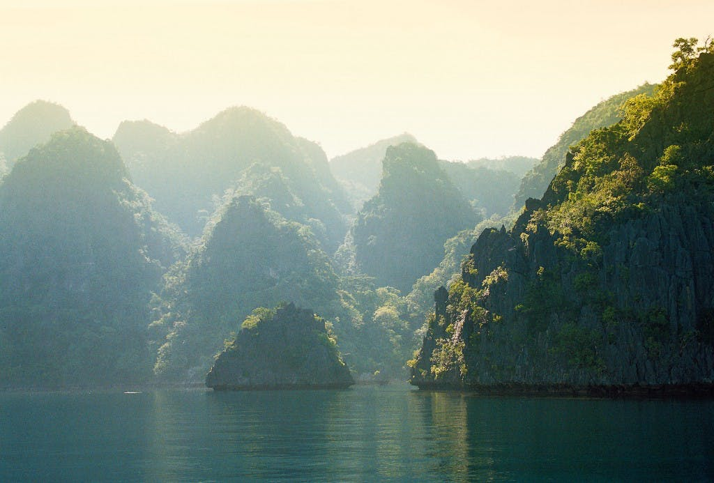The cliffs of Coron, Palawan