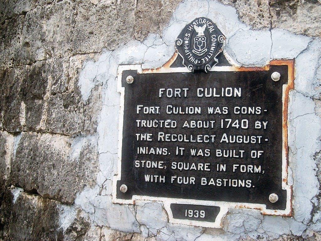 Culion signage