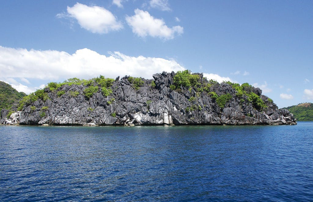 Limestone cliffs in Coron, Palawan