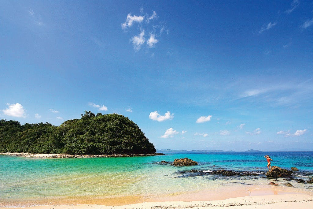 San Vicente beach By Michael Marasigan