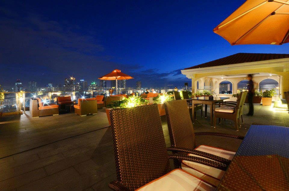 Skydeck at The Bayleaf Intramuros pinched from the Facebook page of The Bayleaf Intramuros