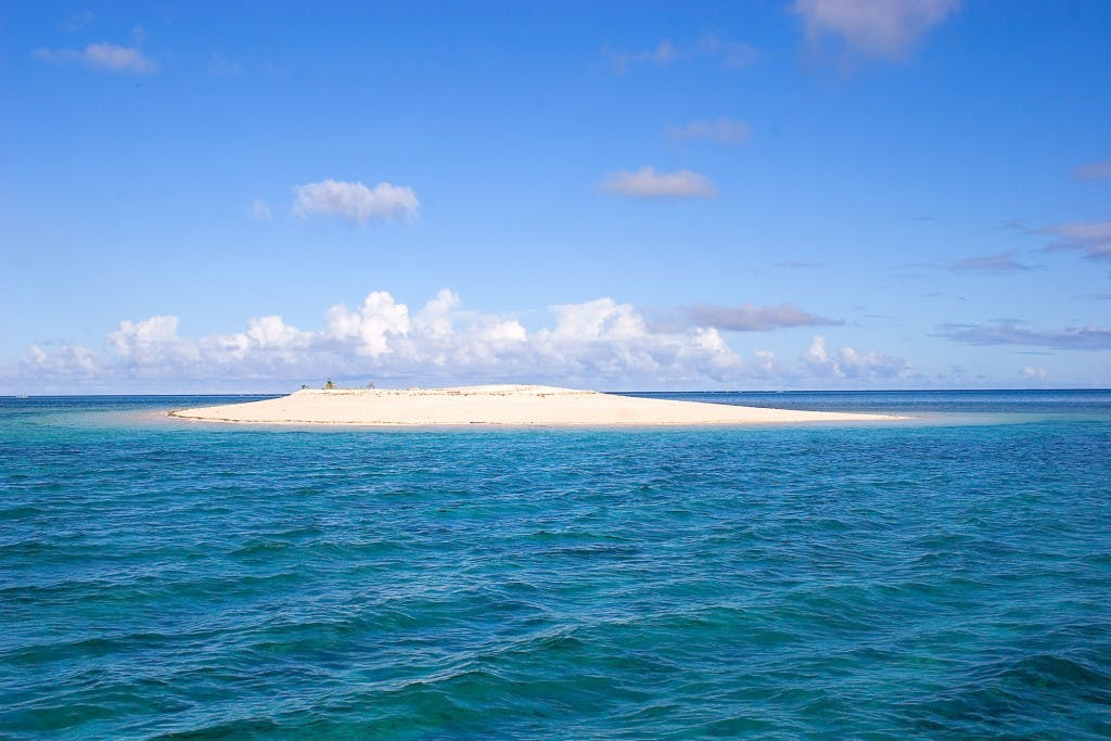 Pansukian sandbar or Naked Island