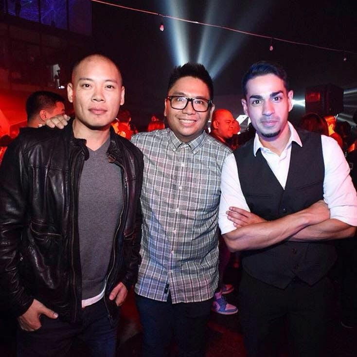 Tony Toni, Slick Rick and Sam YG pinched from the Facebook page of Boys Night Out