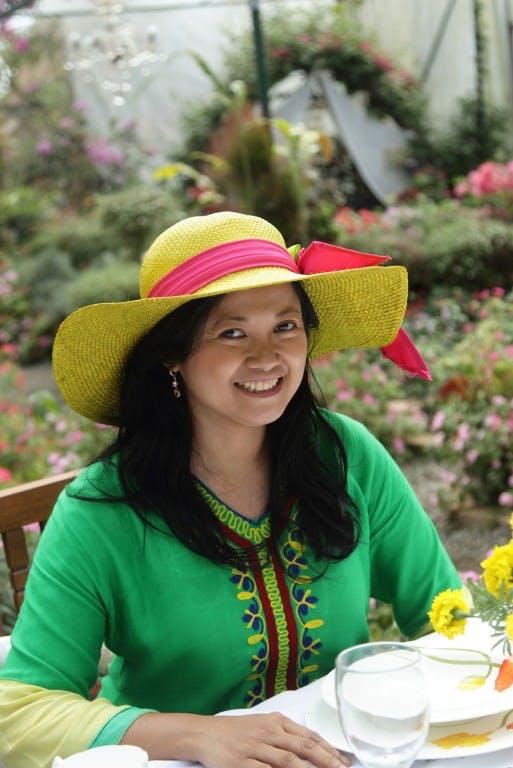 Clang Garcia in Sonya's Garden