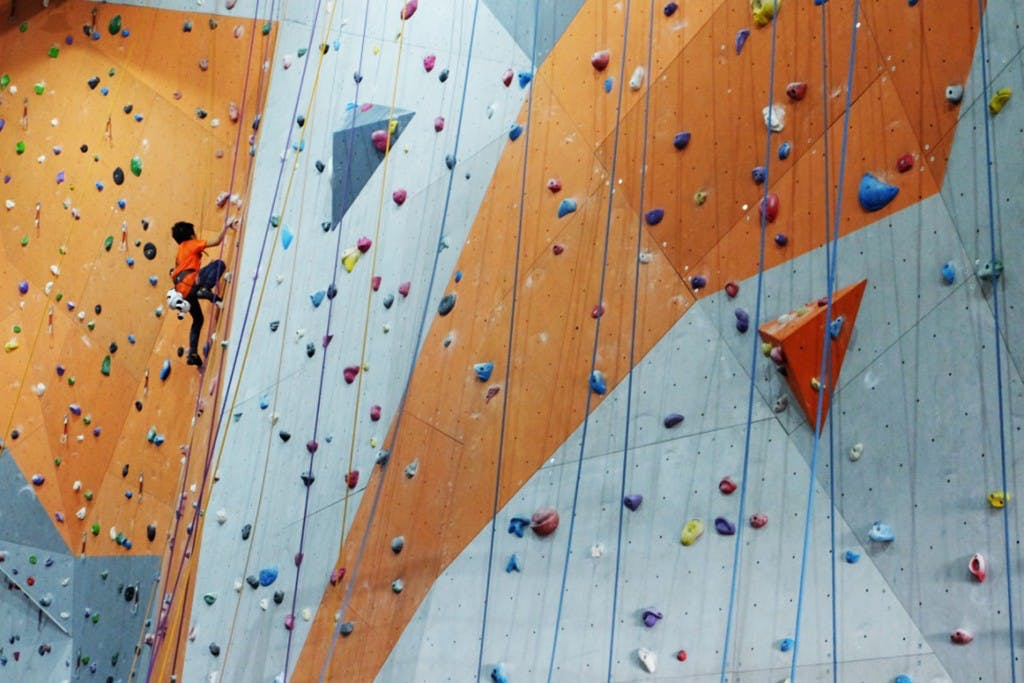 Climb Central Manila at The Portal in Greenfield District