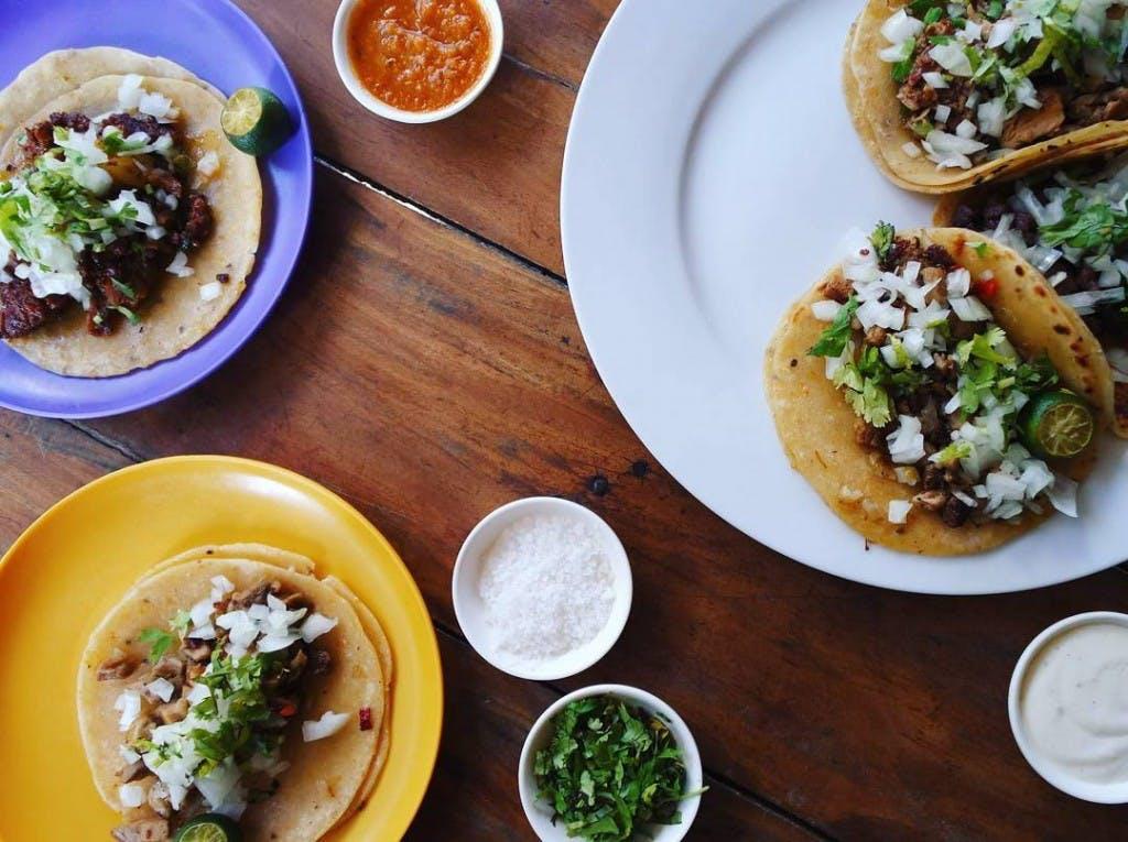 Tacos, one of El Chupacabra's main draw. Screengrabbed from @elchupacabraph