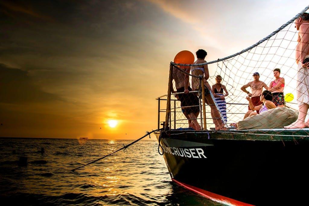 Onboard the Boracay Suncruiser. By Jack Jarilla